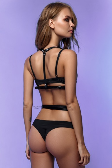 Harness with a strap curving round the waist.  фото 2