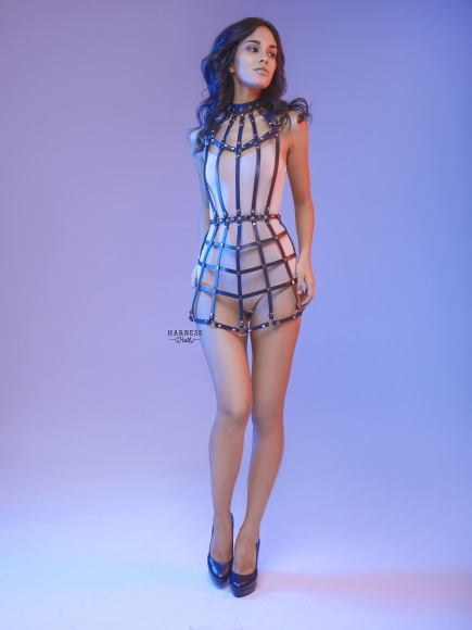 Harness-dress of straps. фото 3