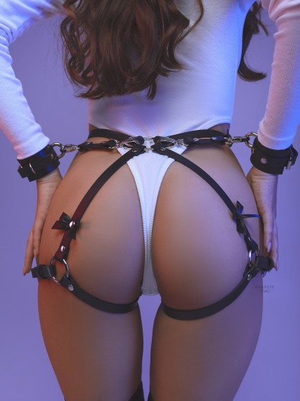 Set with bows and handcuffs. фото 5
