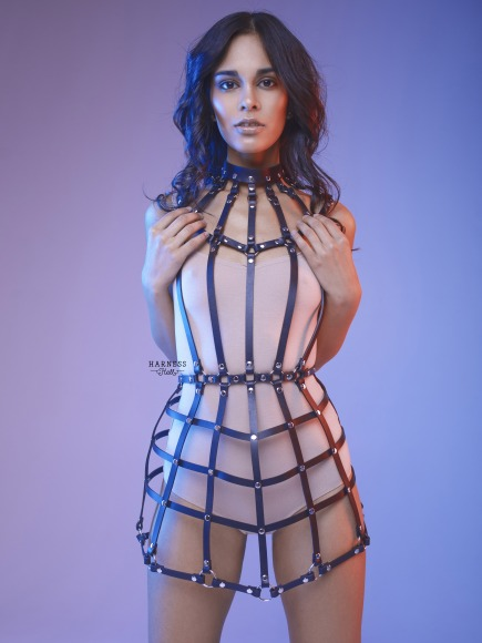 Harness-dress of straps. фото 1