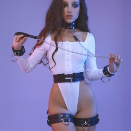 Set-102 Big harness sexy set.