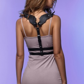 C-120 Woman harness with wings