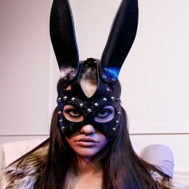 Z-5 Bunny mask with spikes.
