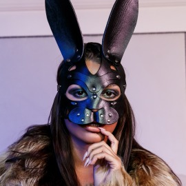 Z-6 Bunny mask with beautiful nose.